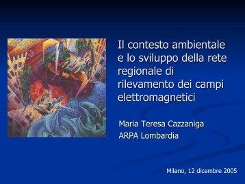Il contesto ambientale e lo sviluppo della rete regionale di ... - Key4biz