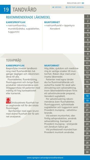 19 TANDVÅRD - Vgregion.se
