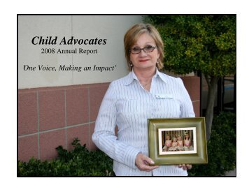 volunteer staff child advocates