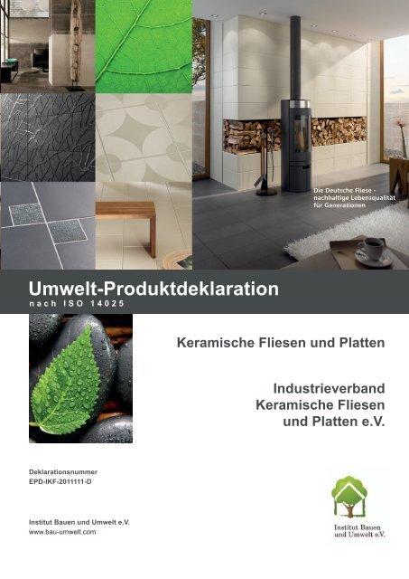EPD-IKF-2011111-D - Bauen und Umwelt