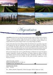Argentinien - winogrono.de