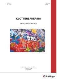 Klottersanering.pdf - Borlänge kommun