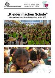 """""""Kleider machen Schule"""" - Kantonsschule Freudenberg, Zürich"""