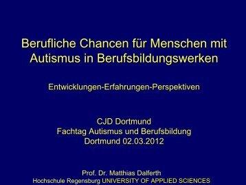 Prof. Dr. Matthias Dalferth - CJD Dortmund