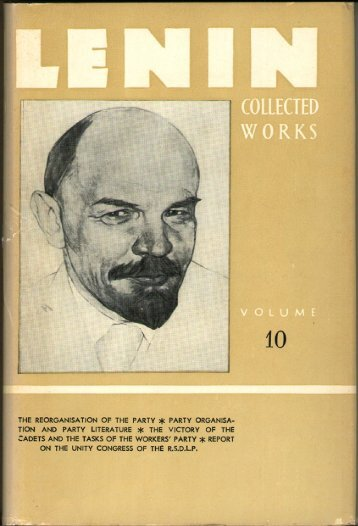 Lenin CW-Vol. 10-TC.pdf - From Marx to Mao