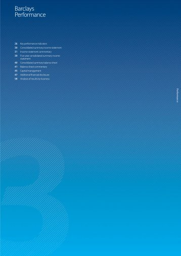 Barclays PLC Annual Report 2009 - The Group