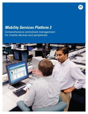 Mobility Services Platform 3 - Warehouse Management : Sales ...