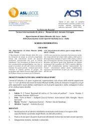 Invito - Centro Servizi Volontariato Salento