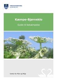 Se vores folder om bekæmpelse af bjørneklo - Fredensborg Kommune