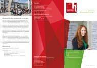 Studieren an der Hochschule Landshut Bewerbung Kontakt