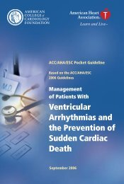 Management of Patients With Ventricular Arrhythmias - My American ...