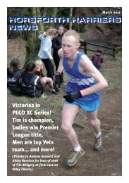 March 2011 newsletter:Layout 1 - Horsforth Harriers