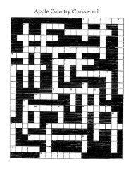 Apple Crossword Puzzle #3
