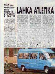 Prenesi PDF testa Mercedes-Benz Mercedes-Benz ... - Avto Magazin