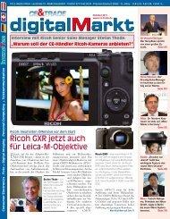 Ricoh GXR jetzt auch für Leica-M-Objektive