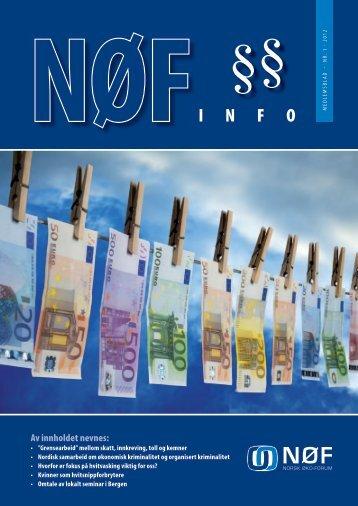 I N F O - Norsk Øko-Forum