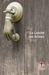 Rapport d'Activités 2012 - Centre d'Action Laïque