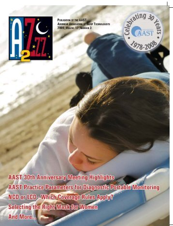 number 3 - American Association of Sleep Technologists