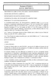 Portaria 275/2011 (D.O.U. 29/07/2011) - Canal Rural