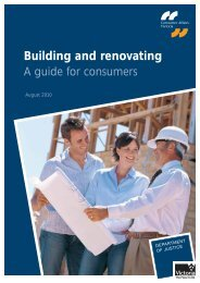 Building and renovating: a guide for consumers