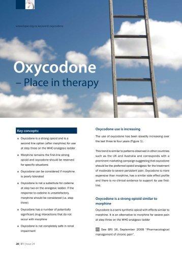 Oxycodone - Bpac.org.nz