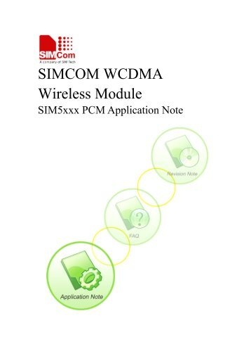 SIMCOM WCDMA Wireless Module