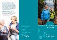 Focus on Volunteering - Cancer Focus Northern Ireland