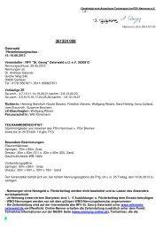Genehmigte Ausschreibung - Reit- und Fahrverein »St. Georg ...