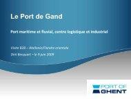 Le Port de Gand - Union Wallonne des Entreprises