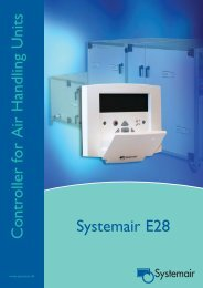 Controller for Air Handling Units Systemair E28