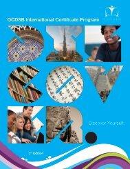 International Certificate Program Brochure