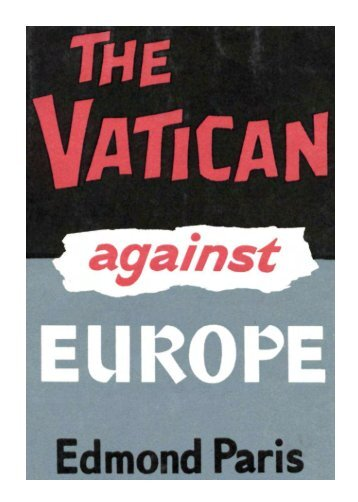 The Vatican against Europe - End Time Deception