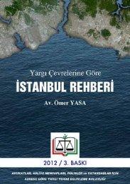 Yargı Çevrelerine Göre İstanbul Rehberi - İstanbul Barosu
