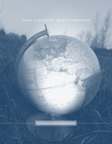 2006 Annual Report - EarthCorps