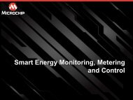 Smart Energy Monitoring, Metering and Control - Microchip