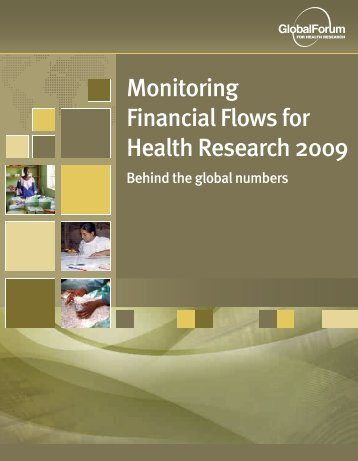 Monitoring Financial Flows for Health Research 2009