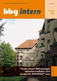 intern - Berliner Baugenossenschaft eG