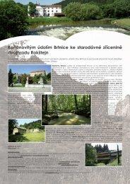 Kaňonovitým údolím Brtnice ke starodávné zřícenině ... - Extranet