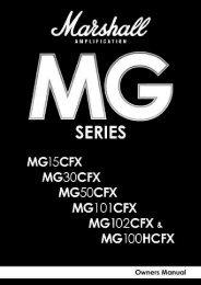MG15CFX-MG100HCFX [1.04 MB] - Marshall