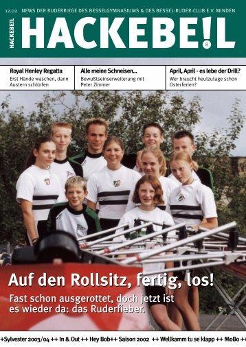 Auf den Rollsitz, fertig, los! - Bessel-Ruder-Club eV Minden