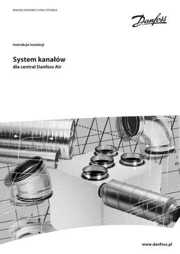 System kanałów dla central Danfoss Air