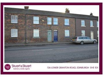 136 lower granton road, edinburgh eh5 1ex - Stuart & Stuart