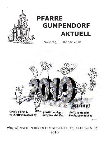 03. Jänner 2010 - Die Homepage der Pfarre Gumpendorf St. Ägyd