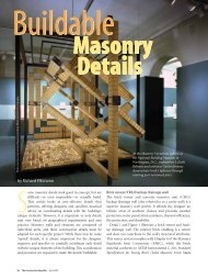by Richard Filloramo - International Masonry Institute