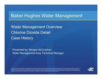 Baker Hughes Water Management