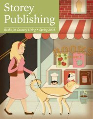 Books for Country Living • Spring 2008 - Workman Publishing