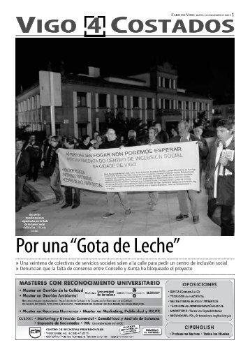 """Por una""""Gota de Leche"""" - Faro de Vigo"""
