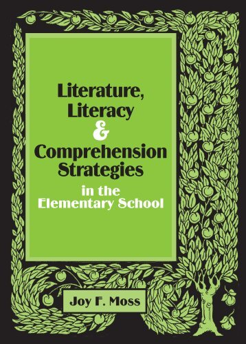 Literature, Literacy Comprehension Strategies - National Council of ...