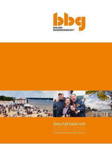 Bericht 2010-2011 - Berliner Baugenossenschaft eG