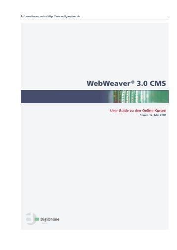 Webweaver® 3.0 CMS